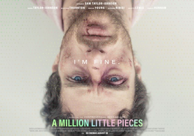Poster and trailer for a million little pieces
