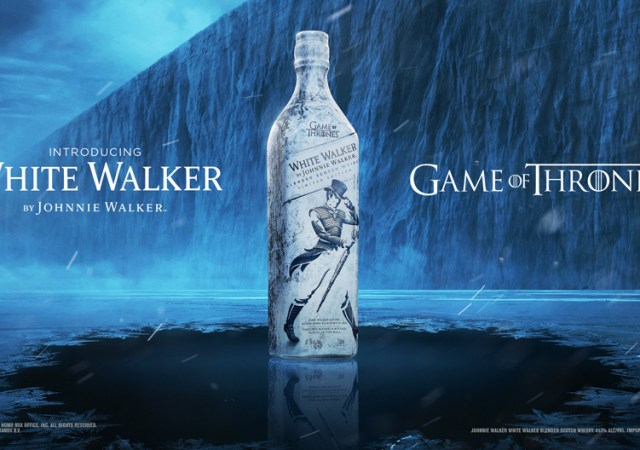 White walker johnnie walker game of thrones