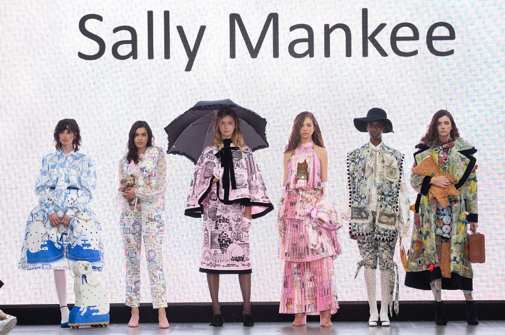 Sally mankee emerging designers at lfw