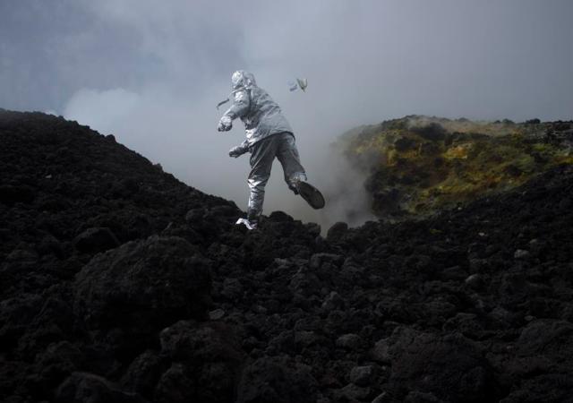 George finlay ramsay , volcanoes & regret