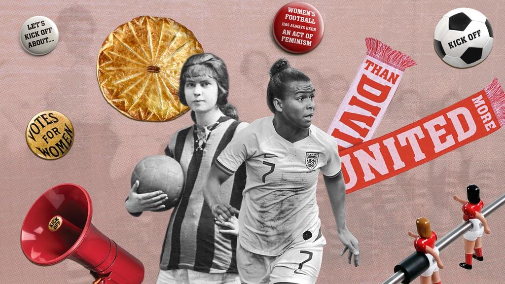 Kick off feminist football scarves