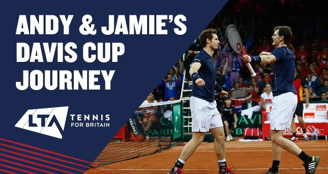 Andy and jamie murray's davis cup journey