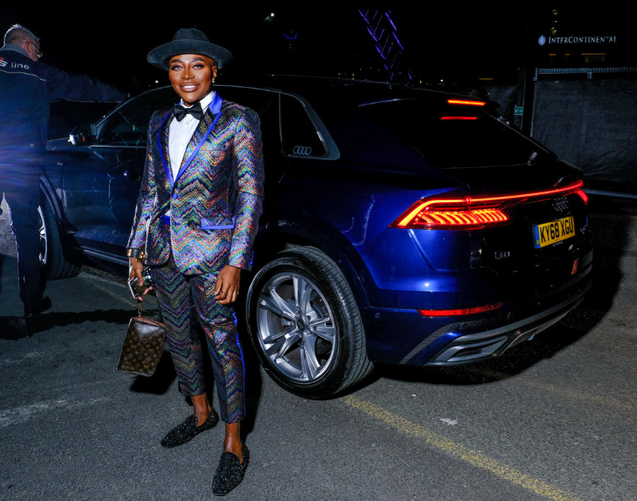Gary thompson arrives in an audi at the gay times honours 500 at magazine london on thursday 21 november 2019