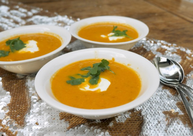 Tonia's winter warmer soup