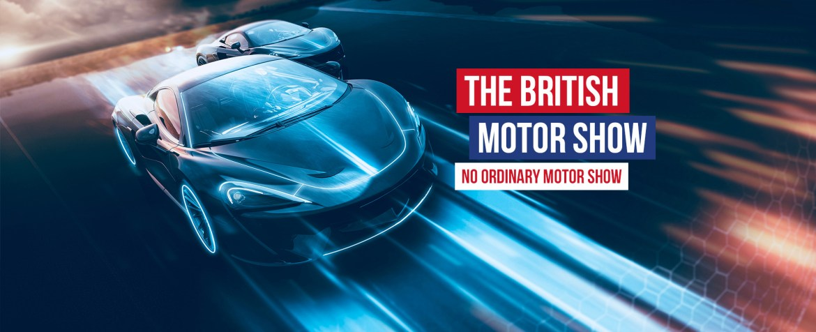 The british motor show announces the alternative drive experience