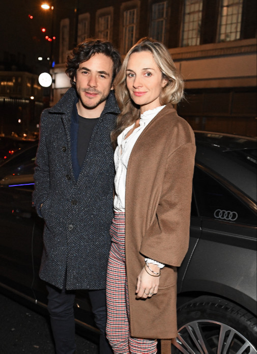 Jack savoretti & jemma powell arrive in an audi at the vanity fair ee bafta rising star party at the standard, london, wednesday 22 january 2020