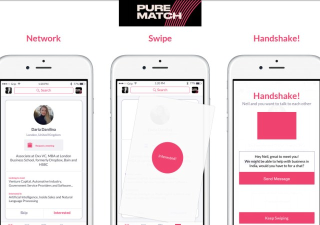 Pure london launches pure match app