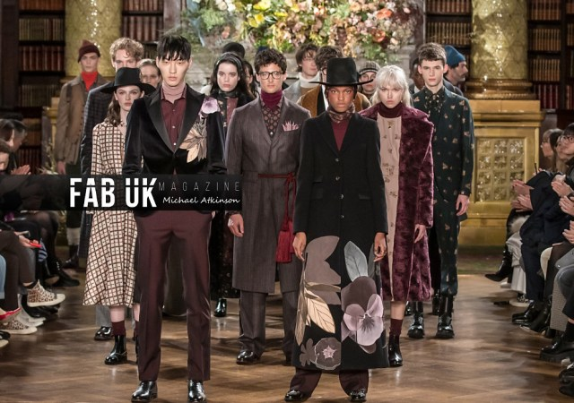 Daks aw20 show during london fashion week