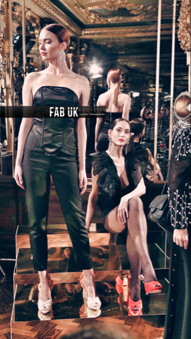 Lu vixen presents for the first time during london fashion week (3)
