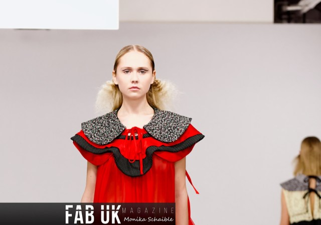 Louis de gama aw20 during london fashion week