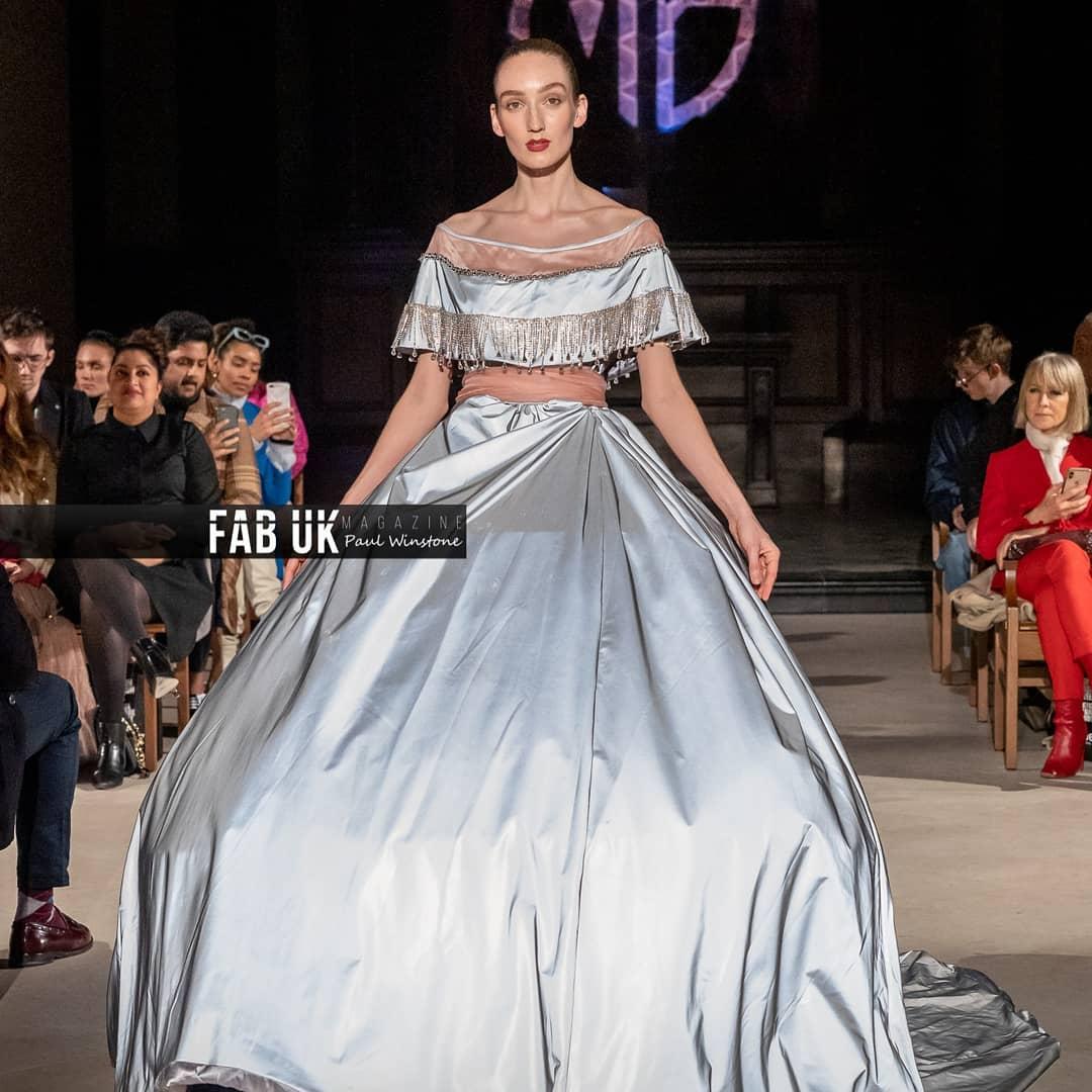 Malan breton aw20 show during london fashion week (4)