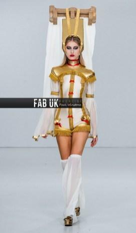 Pam hogg aw20 show during london fashion week (2)