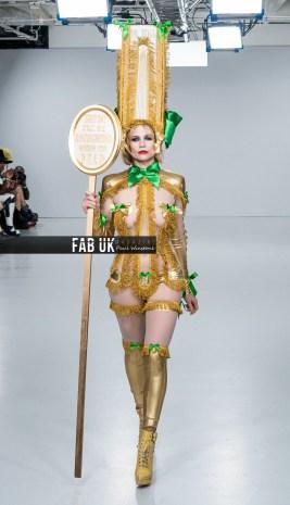 Pam hogg aw20 show during london fashion week (4)
