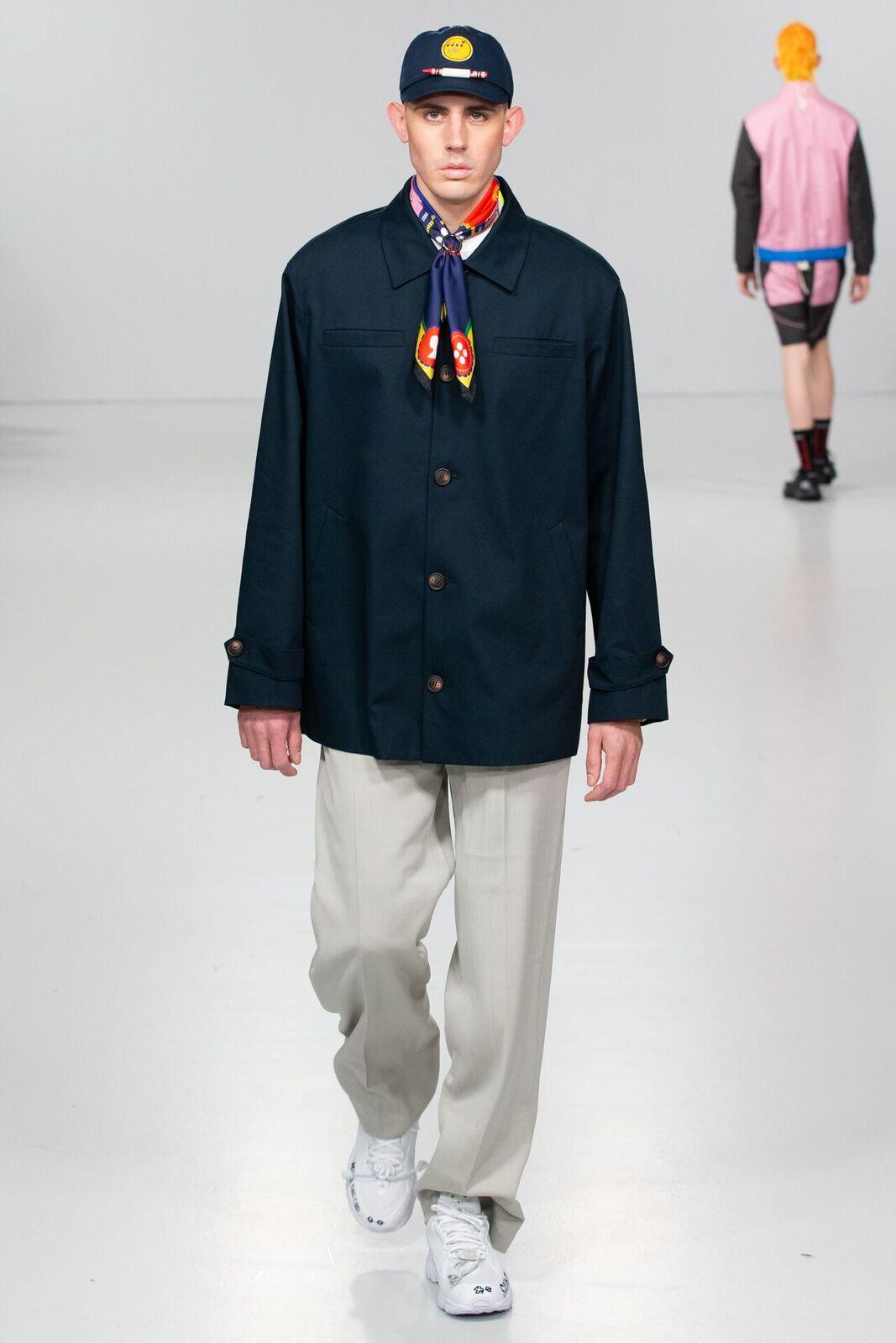 Saint ego aw20 during london fashion week (1)