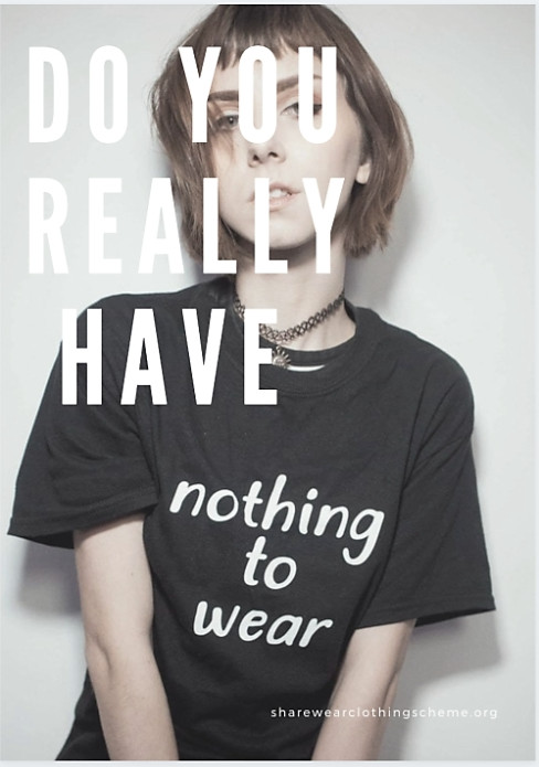 Sharewear clothing scheme at pure london feb20