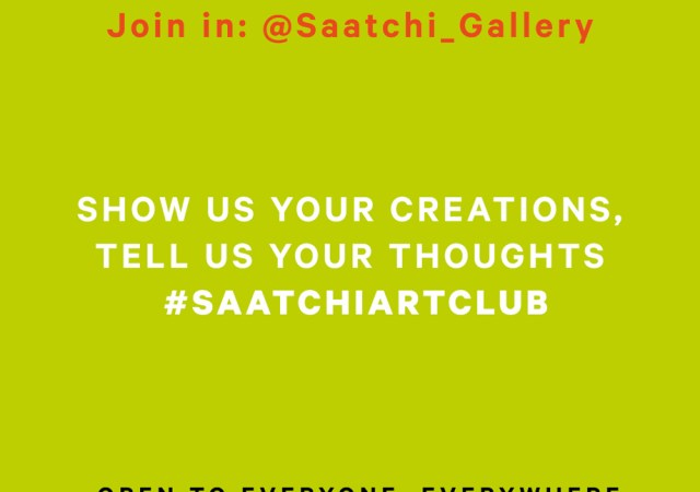 Saatchi art club launches on the gallery's instagram live