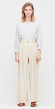 Uniqlo linen trousers