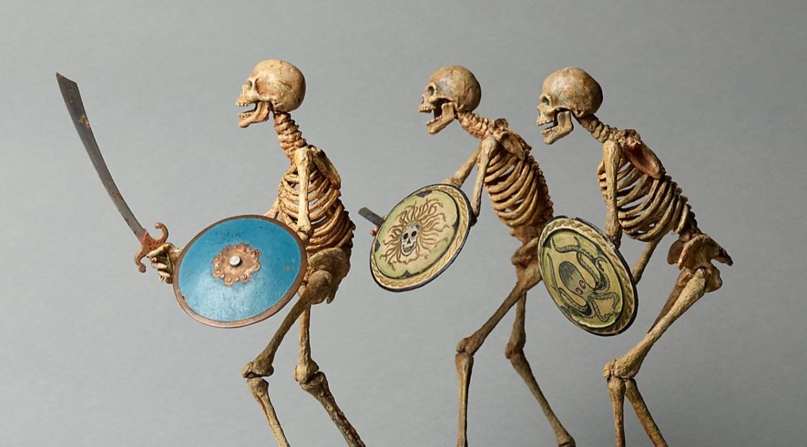Ray harryhausen skeletons, monsters and aliens, oh my!