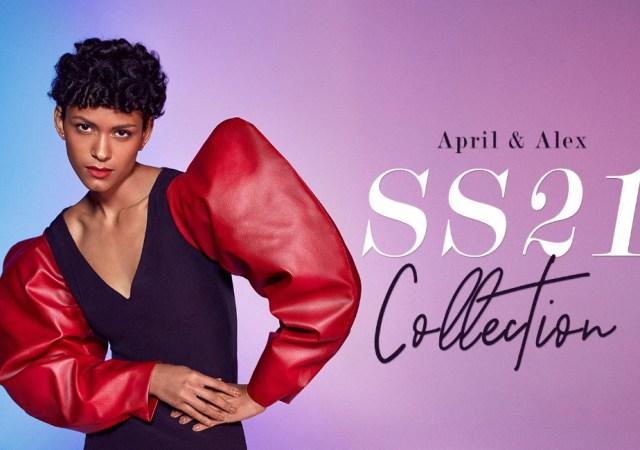 April & alex ss21 virtual catwalk during london fashion week