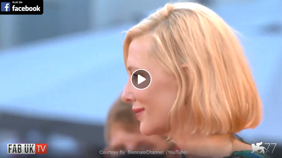 The red carpet of the closing night of 77th venice international film festival