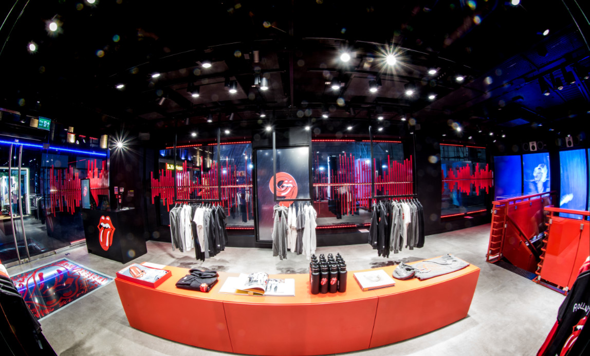 The rolling stones open 'world exclusive' flagship store in london on carnaby street (2)