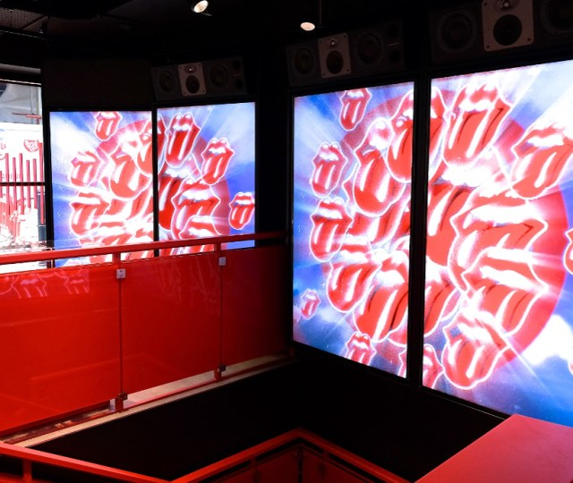 The rolling stones open 'world exclusive' flagship store in london on carnaby street (5)