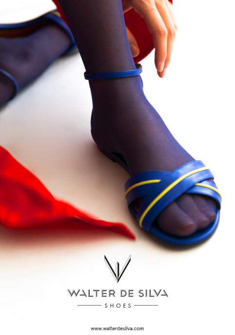 Walter de silva shoes blue