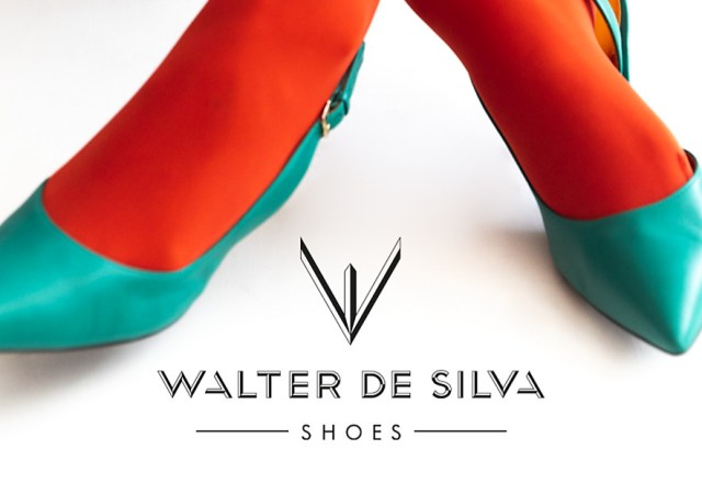 Walter de silva shoes skyblue