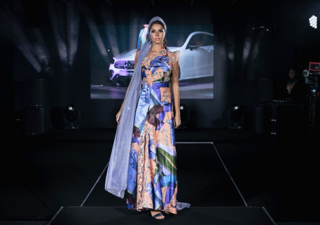 Tsiganova & konyukhov art designed by viktoria tsiganova at mercedes benz fashion week russia