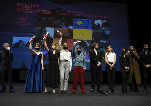 The 23rd cinéfondation selection prizes