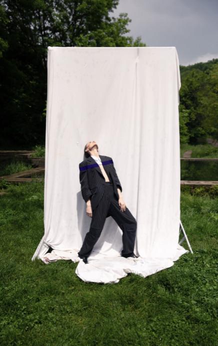 Zlatasapko mercedes benz fashion week russia