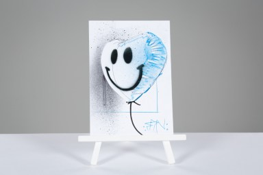 The cure frontman robert smith donates piece of original art to heart research uk auction (1)