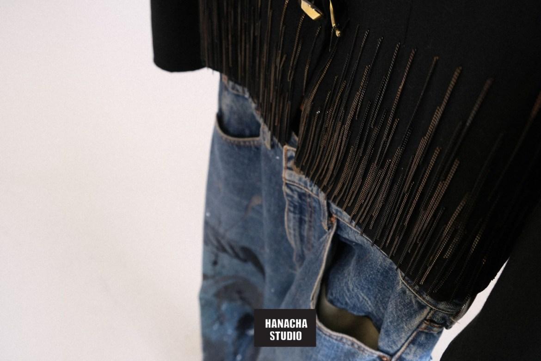 Hanacha studio aw21 during london fashion week 2021
