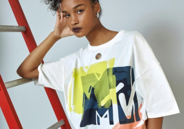 Mtv in collaboration with the british fashion council, river island and iceberg announce the 'music meets fashion competition' winner with a performance by griff at lfw