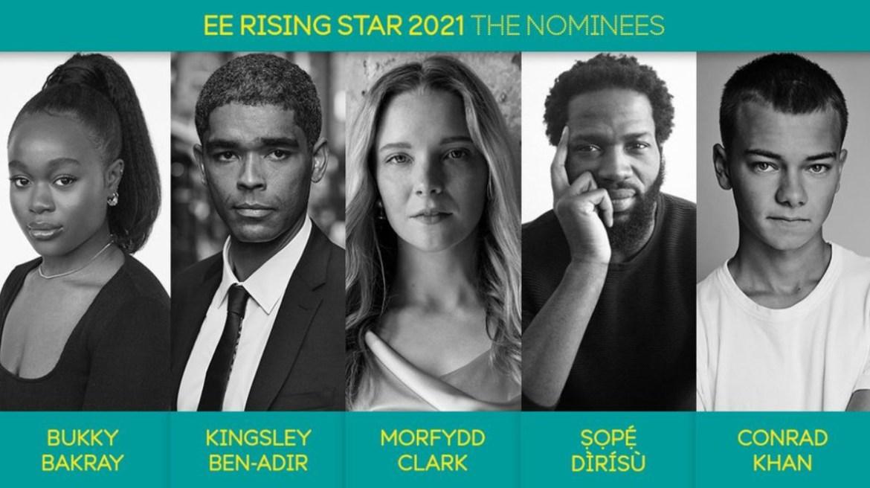 Bafta ee rising star award nominees for 2021