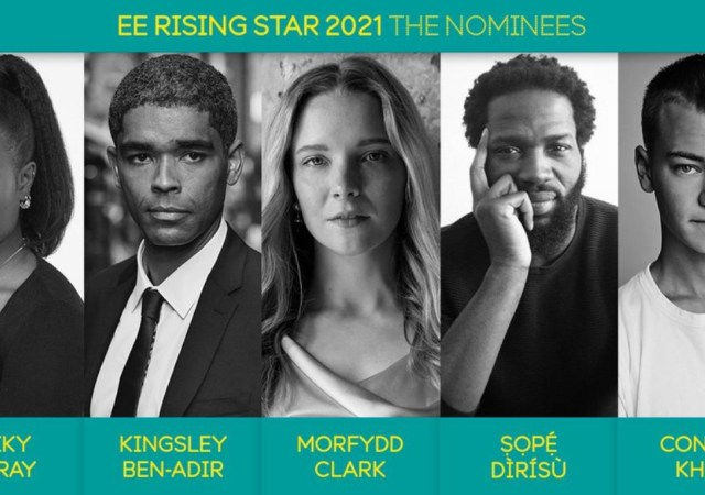 Bafta ee rising star award nominees for 2021