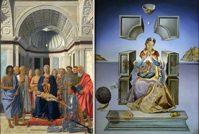Fabuk art figs. 81 2. the madonna of port lligat comparison