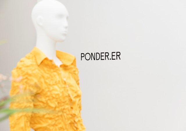 Ponder.er aw21 collection