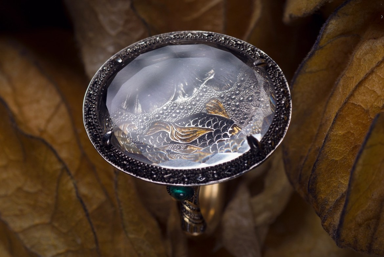 Elena okutova's enchanted jewellery