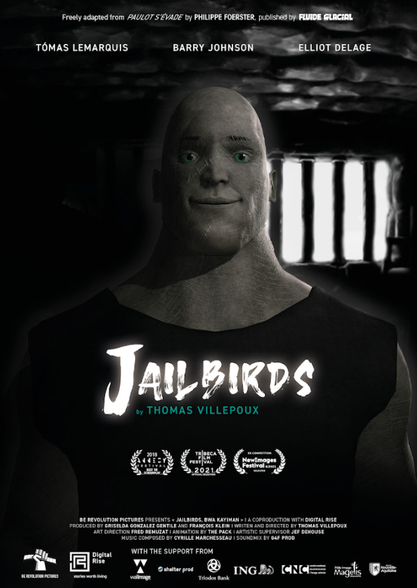 Jailbirds vr experience in competition at tribeca and newimages festival