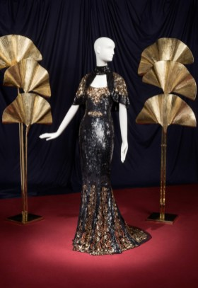 A sequined oscar dress worn by nicole kidman