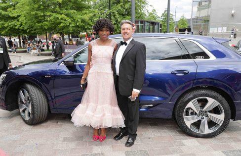 Audi at the virgin media british academy television awards 2021