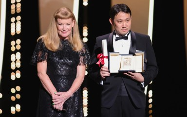 Andrea arnold and ryusuke hamaguchi drive my car, award for best screenplay image credit andreas rentz getty images