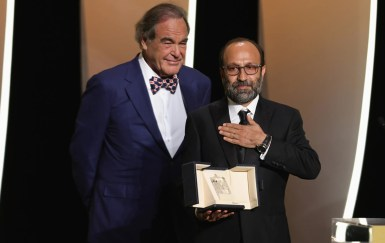 Oliver stone and asghar farhadi ghahreman (a hero), grand prix (ex æquo) image credit andreas rentz getty images