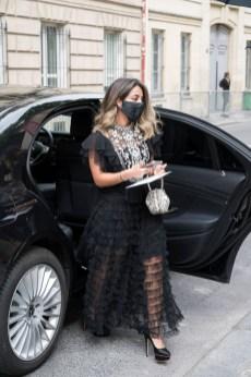 Streetstyle dior autumn winter 2021 2022 haute couture show (2)