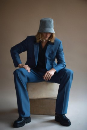 Teddy vonranson resort 2022 collection icons starring actor and musician hart denton (2)