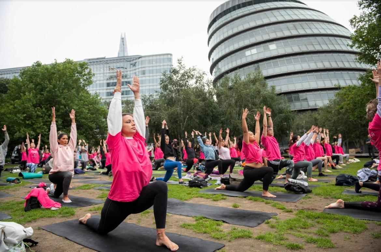 Marian keyes yoga event
