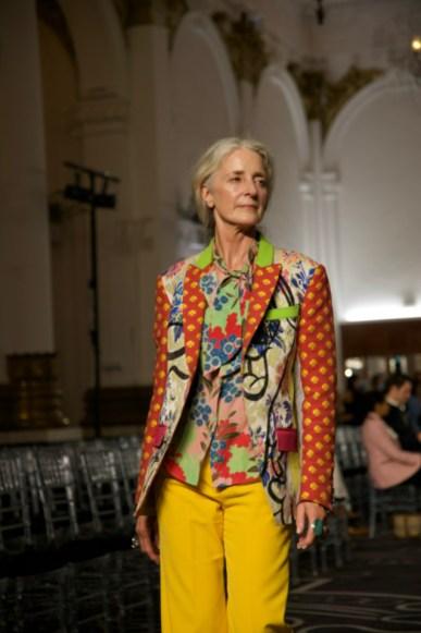 Helen anthony spring summer 2022 during london fashion week (1)
