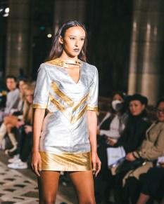Celebrity fashion designer michael lombard steals the show at paris fashion week (6)