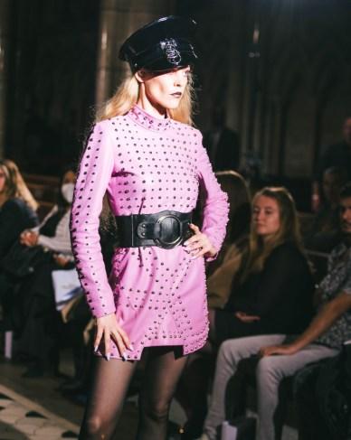 Celebrity fashion designer michael lombard steals the show at paris fashion week (7)